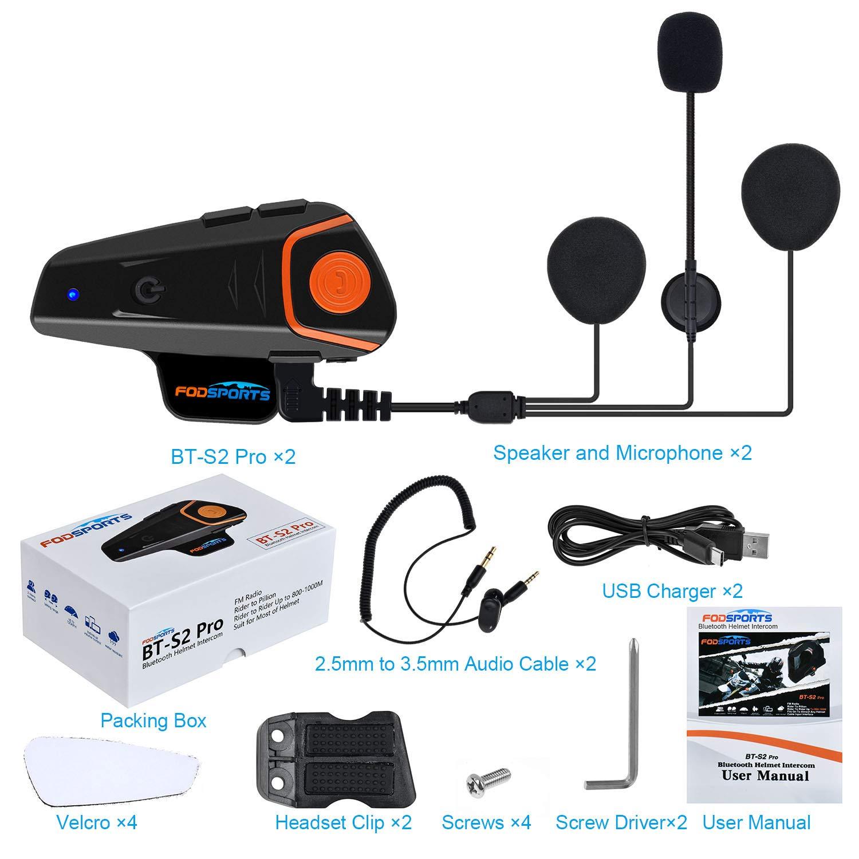 Enchufe Tipo C Cable de micr/ófono Suave para aud/ífonos BT-S2 intercomunicador Casco de Motocicleta