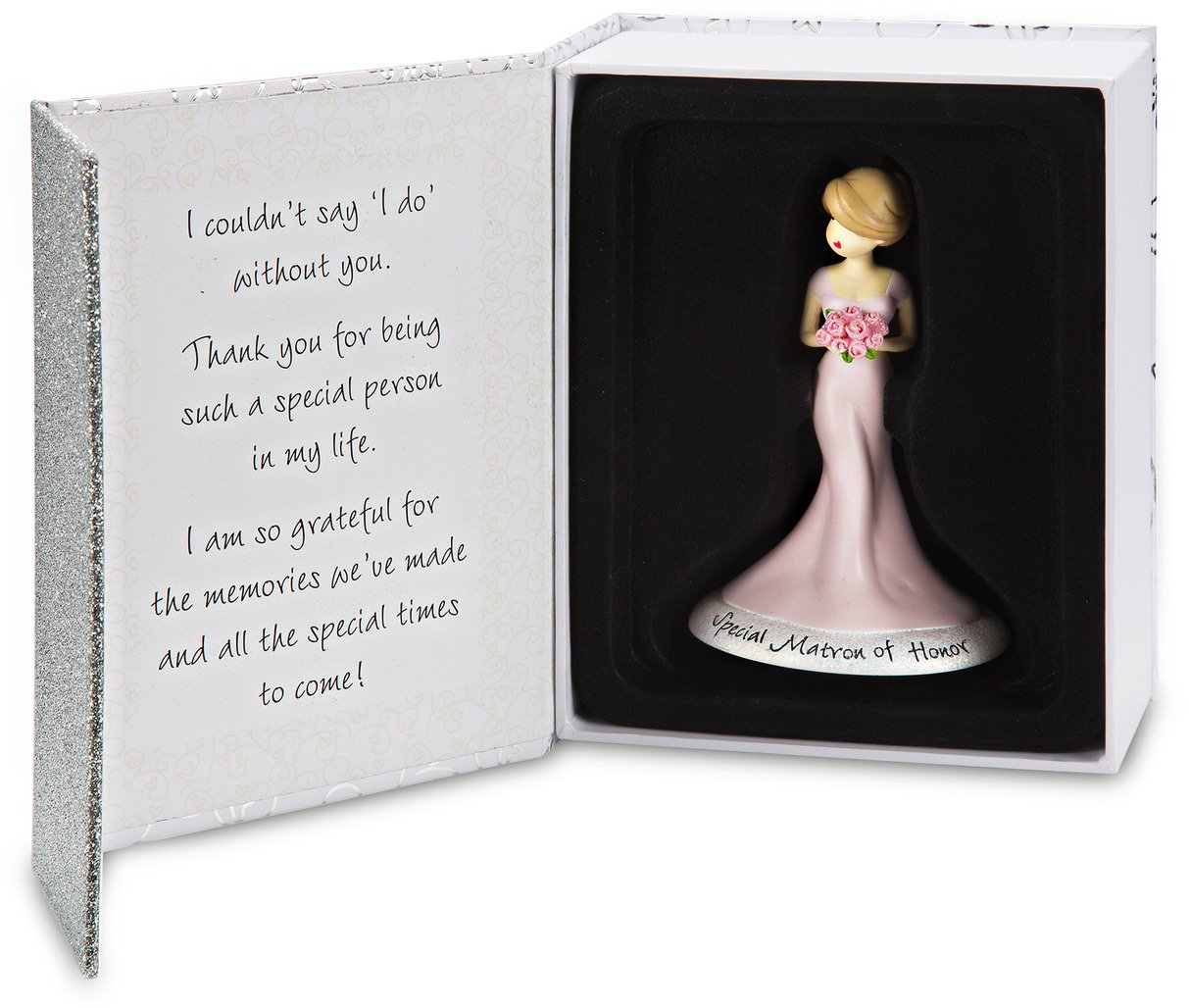 Pavilion Gift Company Philosophies Matron of Honor Gift Christmas Ornament, 4.5''