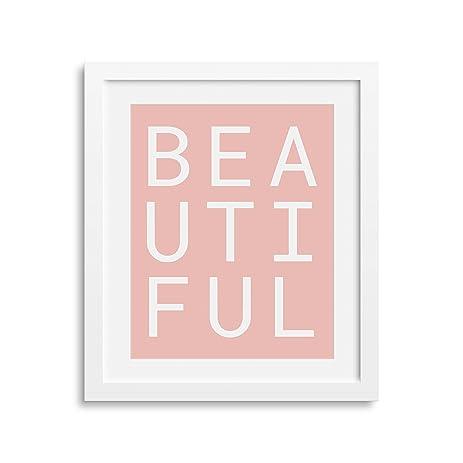 "Amazon.com: Frame Included | Motivation Wall Art Print 8x10"" | Home ..."