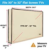 """Outdoor TV Cover 30""""-32"""" inch - Universal"""
