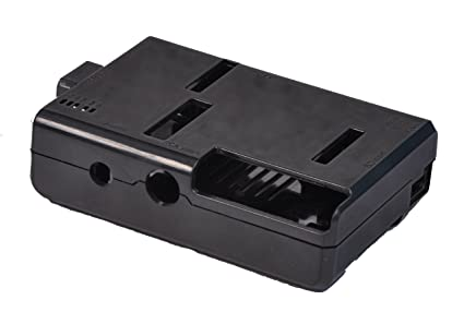 Protective Case/Box / Enclosure Black Color for Raspberry Pi