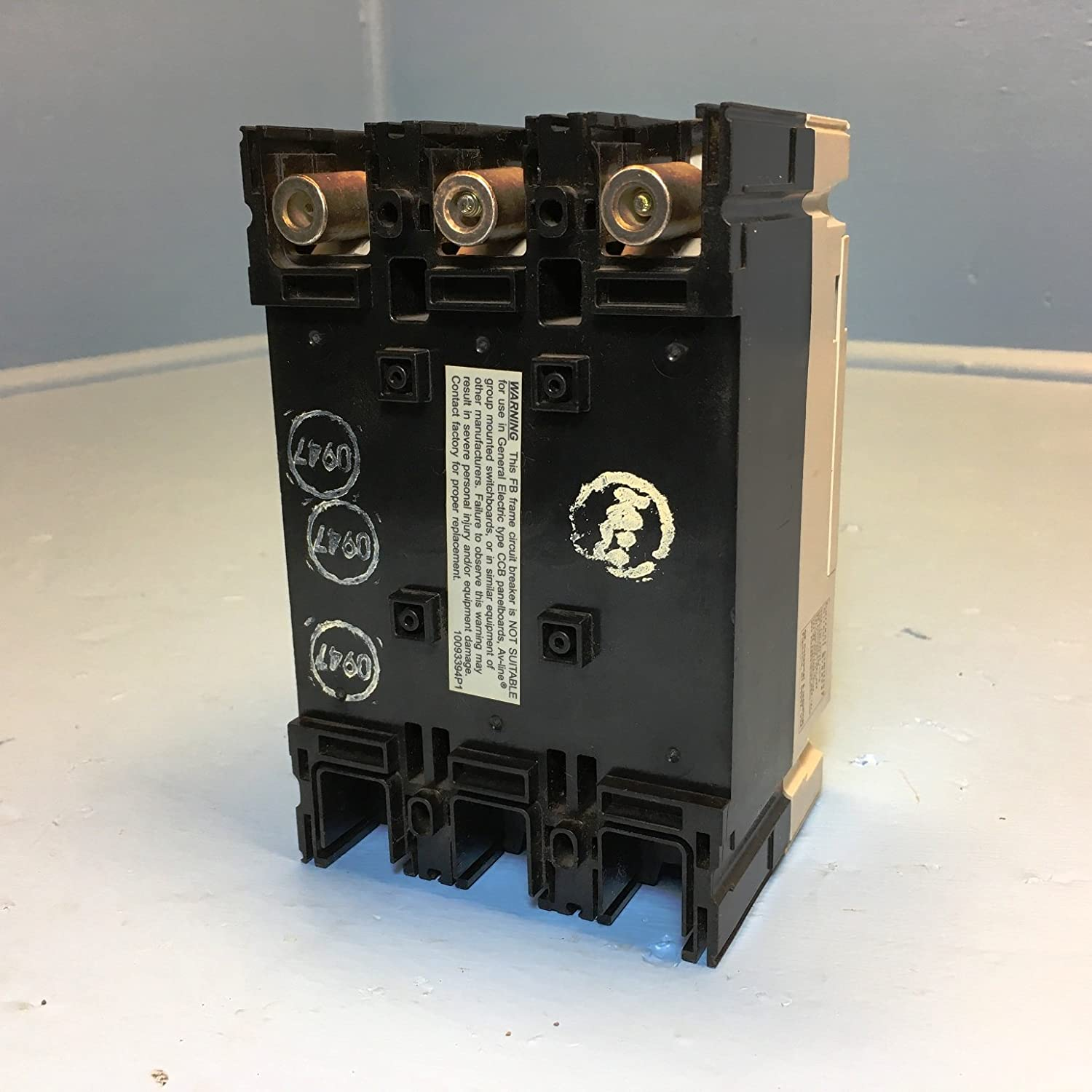 Ge Distribution Fbn36te015rv Record Plus Molded Case Circuit Breaker Basics Of Breakers For Electrical Engineers Additional Info 15 Amp 240 Volt Ac 480 600 347 3 Pole