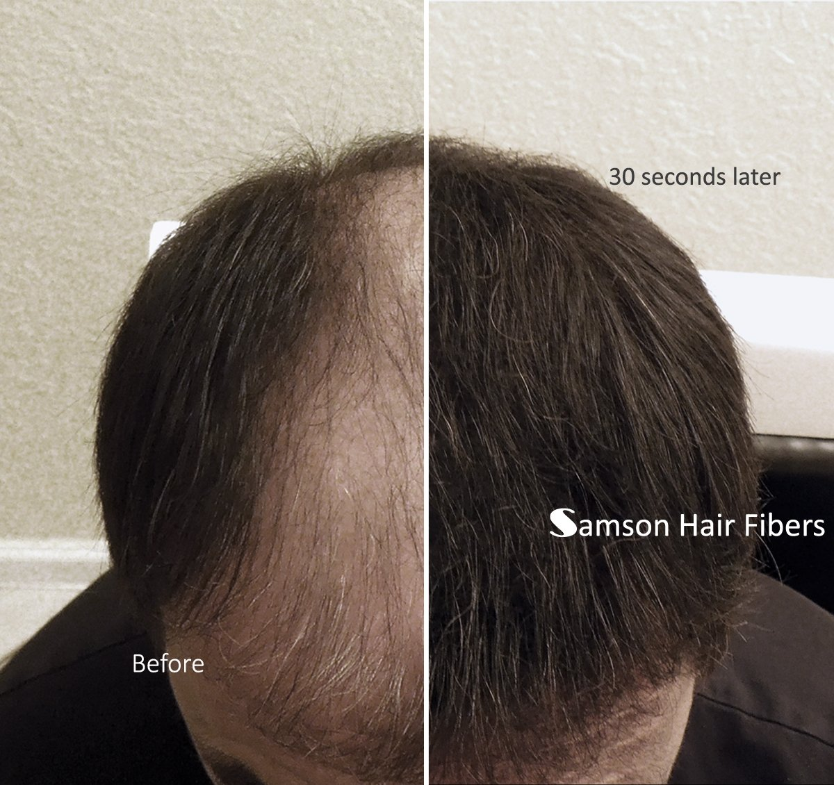 Amazon.com: BLACK color Samson Best Hair Loss Concealer Building ...