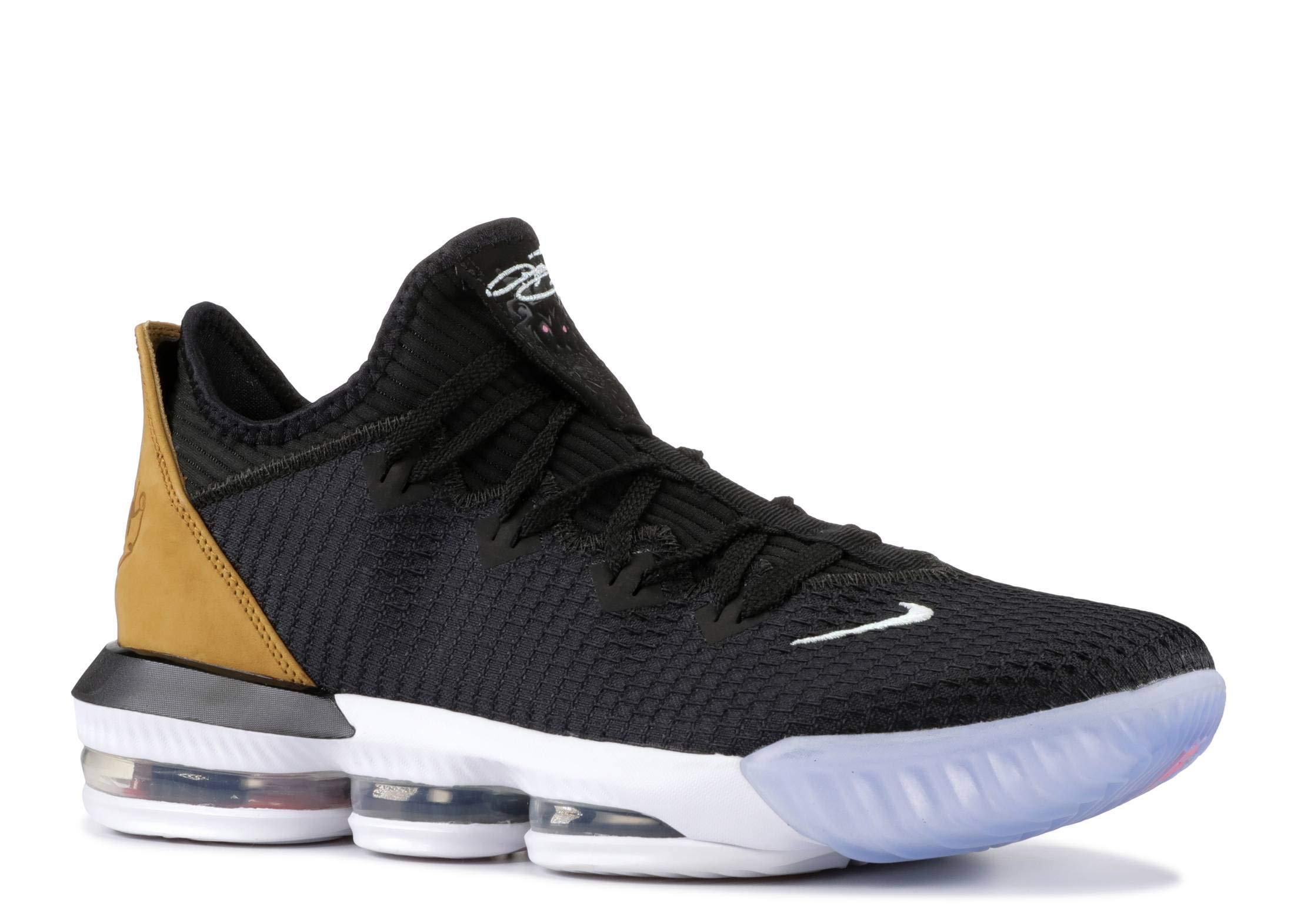 Nike Men's Lebron 16 Low Black/Gold