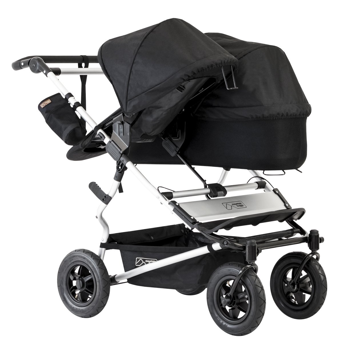 Mountain Buggy Duet 2016 Double Stroller, Black by Mountain Buggy (Image #8)