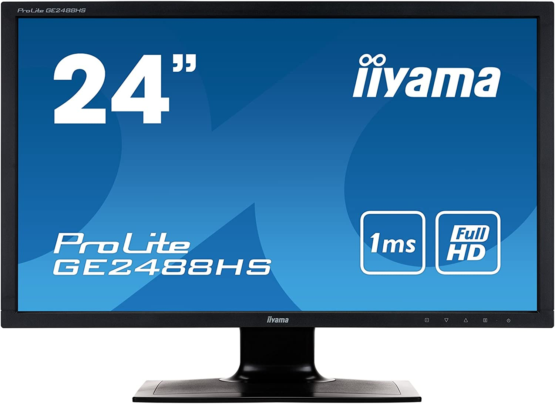 Iiyama Ge2488hs B1 61 Cm Led Monitor Schwarz Computer Zubehör