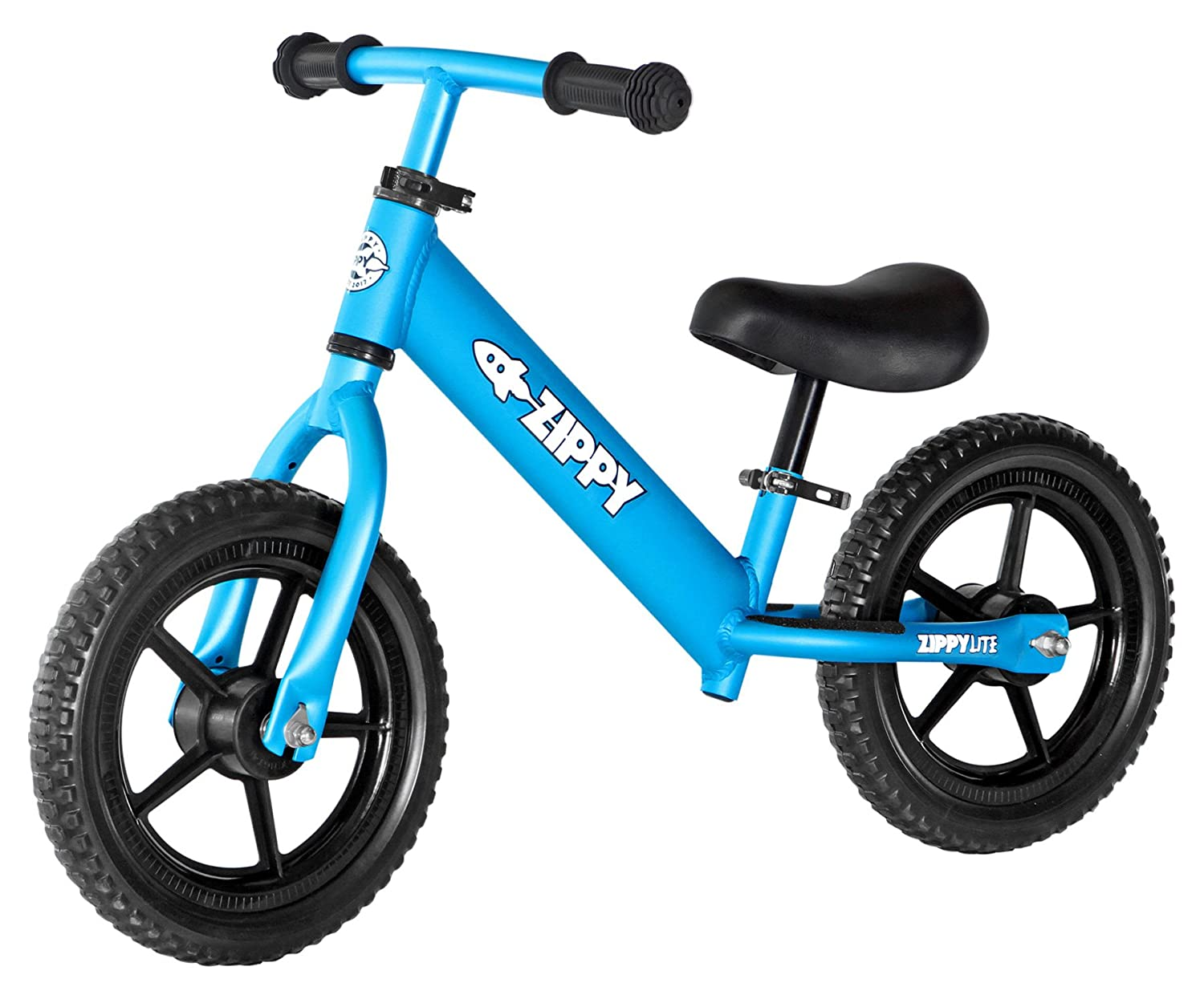 "ZIPPY LITE Training Beginners Running Balance Bike - Lightweight, 12"" Wheels, No Pedals - Aluminum Bicycle for Toddlers & Kids Ages 1.5 to 5 Years"