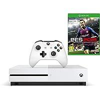 Microsoft Xbox One S 1TB Oyun Konsolu, 2 Oyun Kumandası ve PES2019