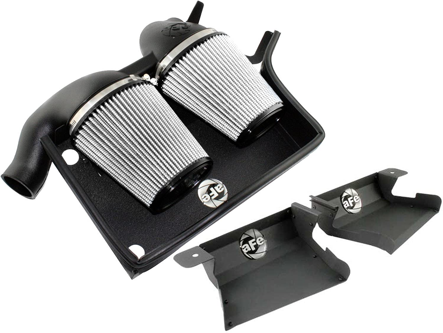 aFe Stage 2 Intake System with Pro-Dry S incl Scoops BMW 3-Series 335i 07-11