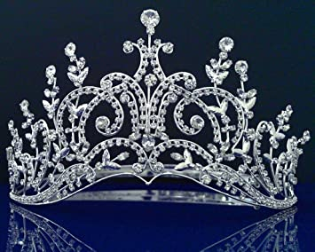 Amazon sc bridal wedding tiara crowns 52569 beauty sc bridal wedding tiara crowns 52569 junglespirit Choice Image