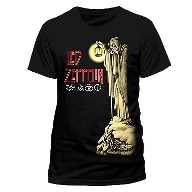 Live Nation Led Zeppelin - Hermit Men's T-Shirt Black Small