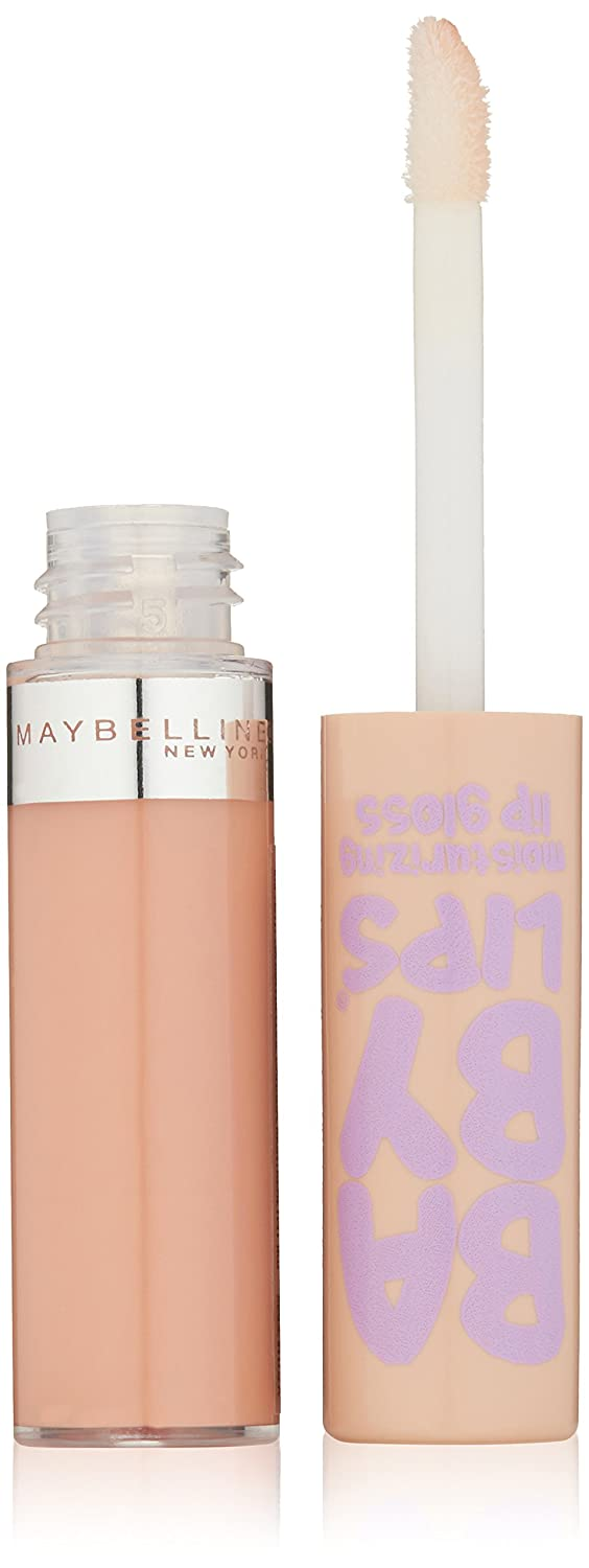 Maybelline New York Baby Lips Moisturizing Lip Gloss, 0.18-Fluid-Ounce, Tickled Pink