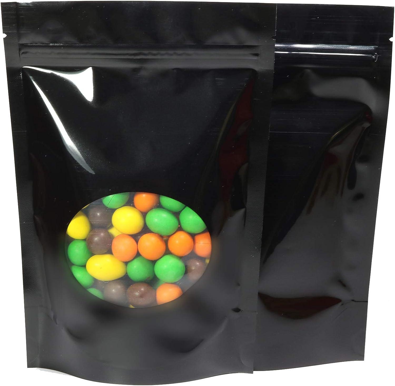 Gold Color Stand-up Bag Tea Packaging Pet food Vegetable,Fruit Pouch100 PCS
