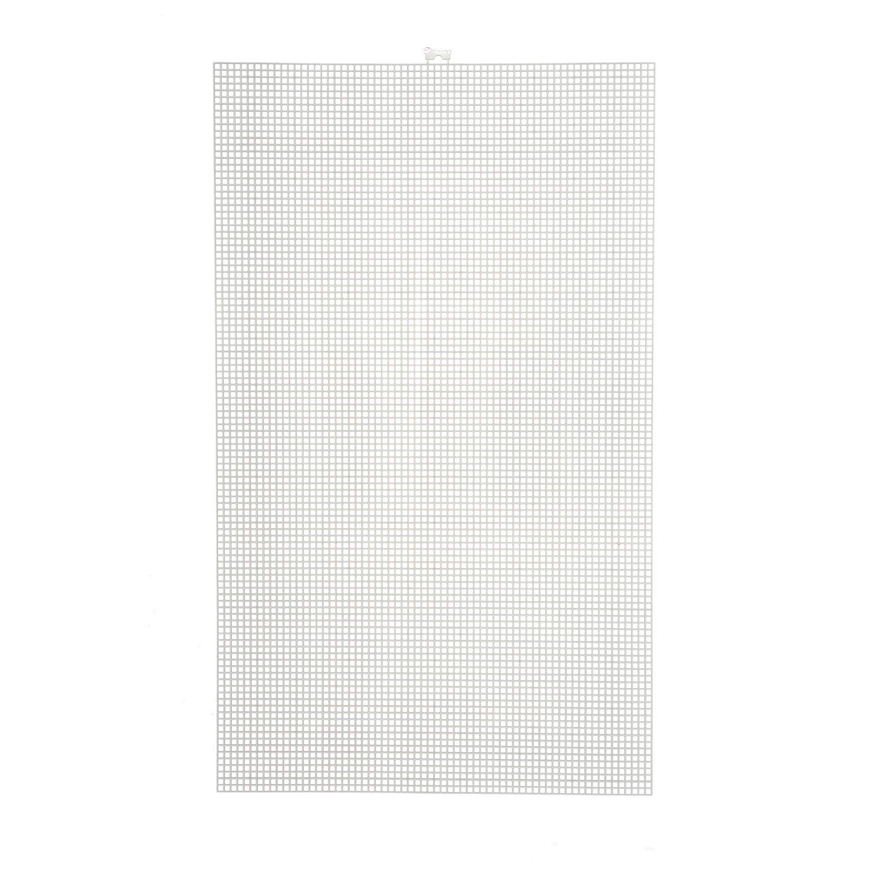 Bulk Buy: Darice DIY Crafts #5 Mesh Plastic Canvas Artist Sheet 13-1/4 x 22 (12-Pack) 33400