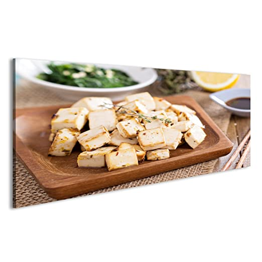 islandburner Cuadro Cuadros Tofu marinado al Horno con Hierbas y ...