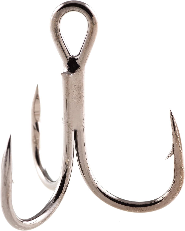 Owner ST41BC 2x Strong Black Chrome Treble Hooks