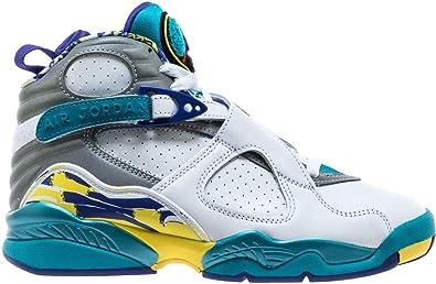 buy popular 830c8 2621a Amazon.com | Nike WMNS Air Jordan 8 Retro Womens Womens ...