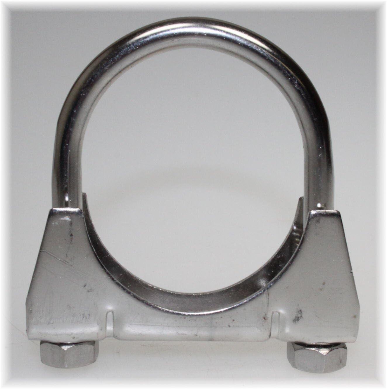 Bügelschelle Auspuffschelle Rohrschelle Schelle Auspuff Rohr M8 x Ø 54 mm