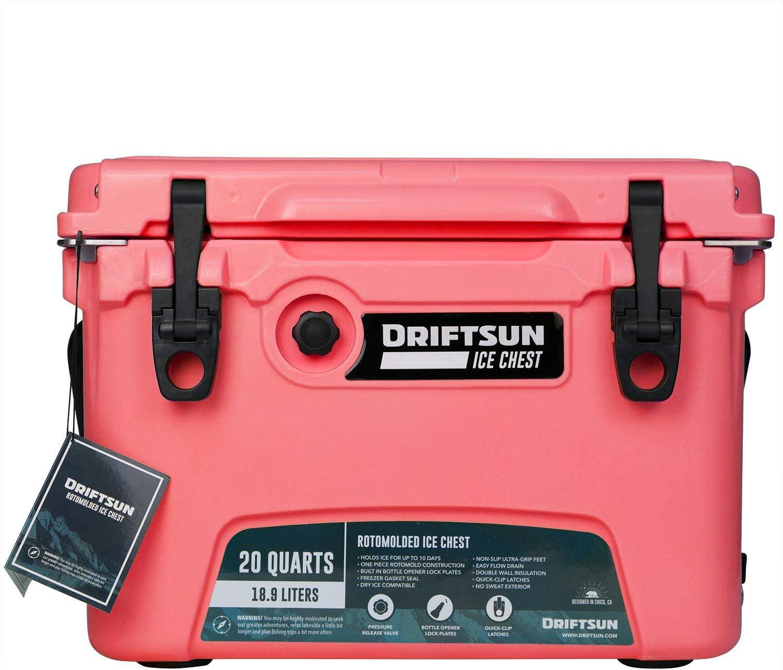 Driftsun - Cofre para Hielo (Resistente refrigerador, Alto ...
