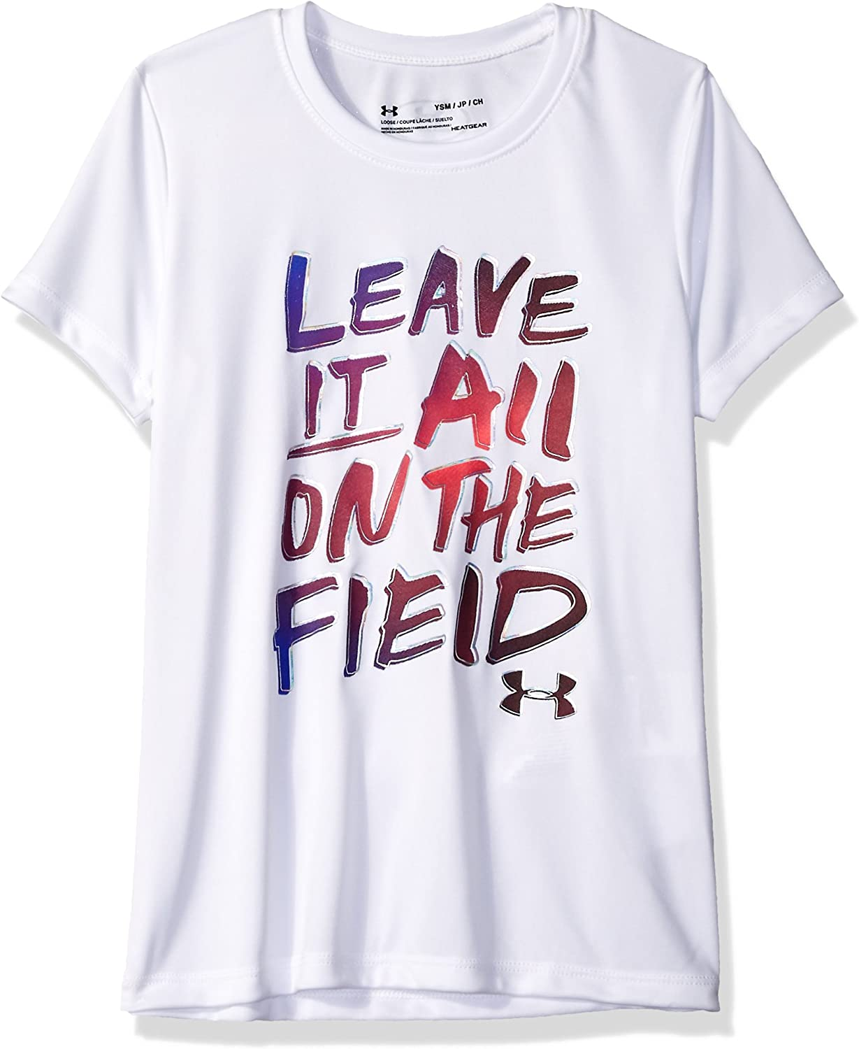 Under Armour girls This Girl Plays Sports Short-Sleeve T-Shirt