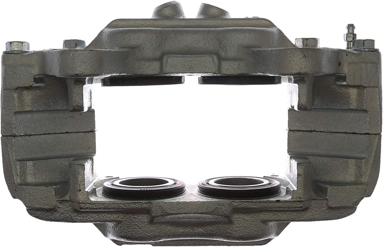 Friction Ready Coated Remanufactured ACDelco 18FR2142C Professional Front Driver Side Disc Brake Caliper Assembly without Pads