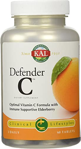 KAL Defender-C Tablets, 1000 mg, 60 Count