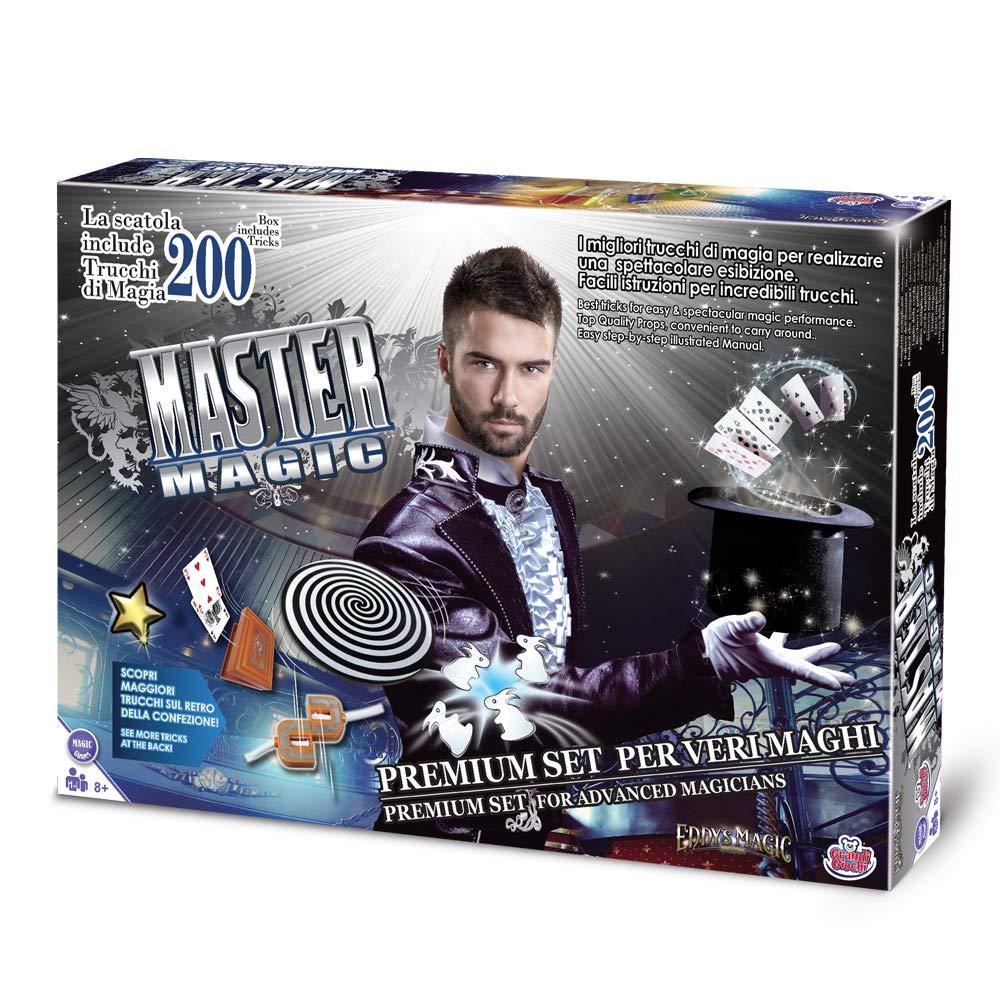 Grandi Giochi Kit Magia 200 Trucchi, Colore Multicolr, GG00296