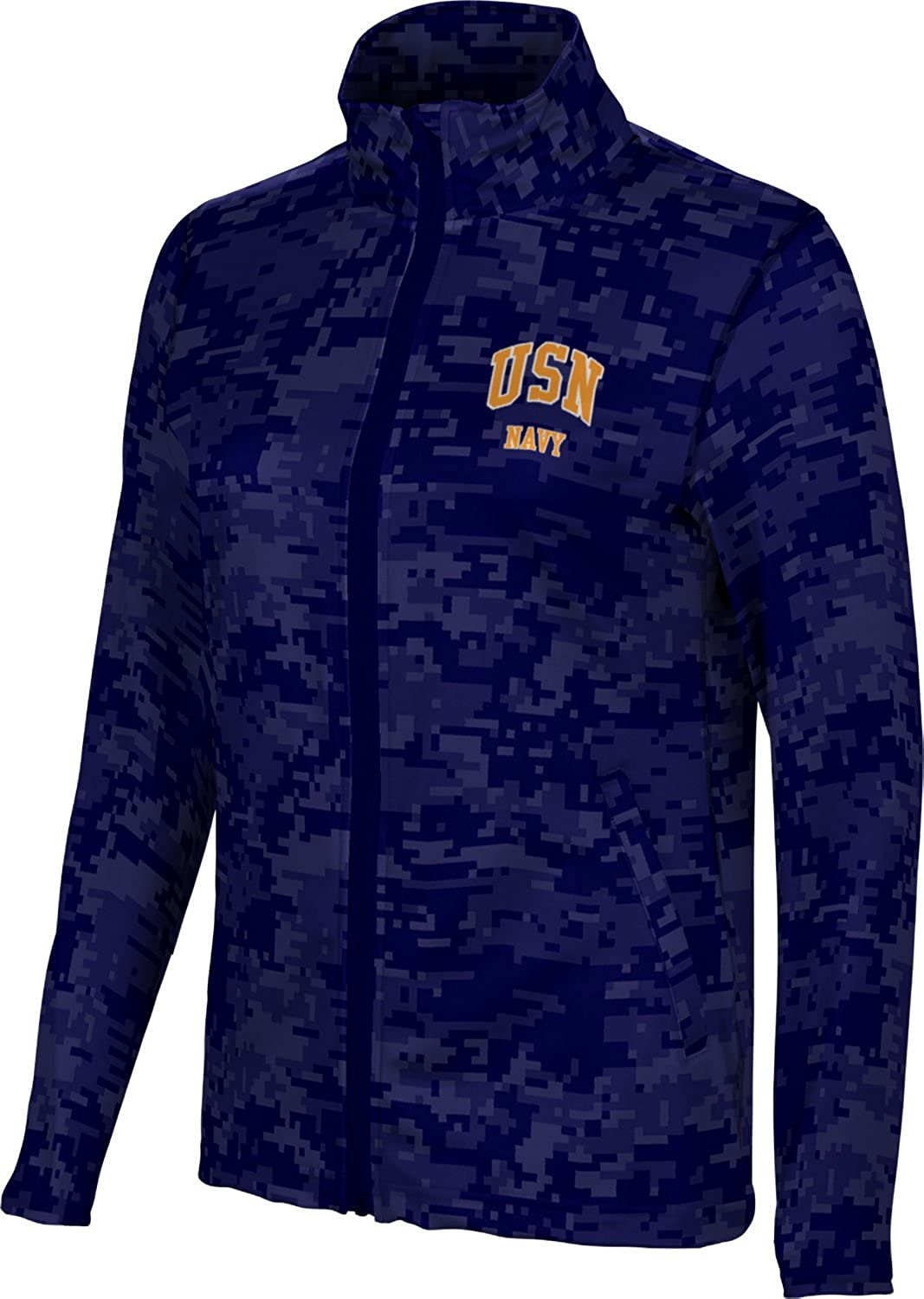 Women's THE ONLY EASY DAY WAS YESTERDAY Military Digital Full Zip Jacket