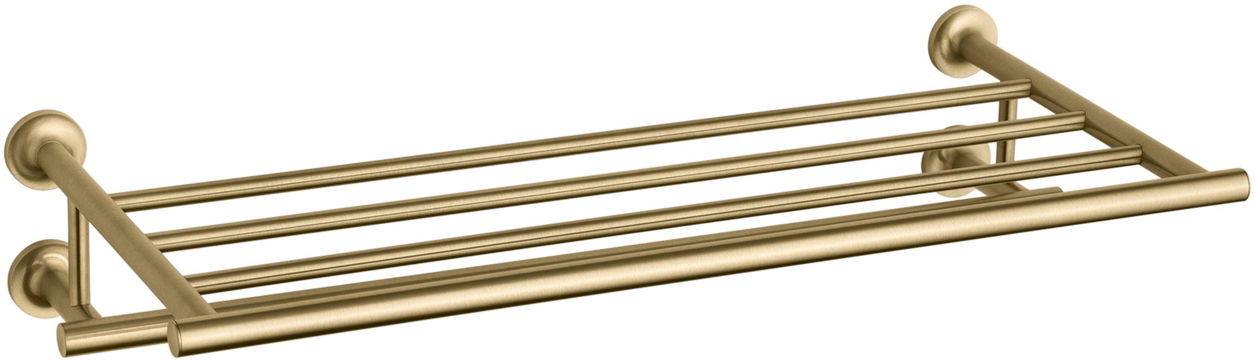 KOHLER K-14381-BGD Purist Hotelier, Vibrant Moderne Brushed Gold