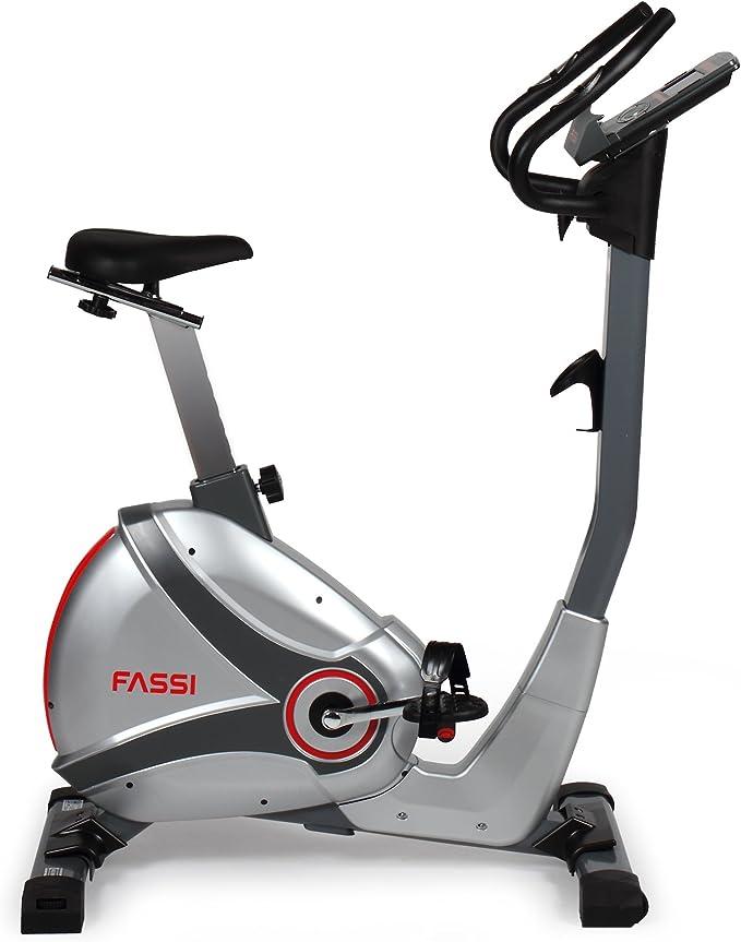 Fassi FB Bicicleta estática, Gris Oscuro, FB 180, Gris Oscuro ...
