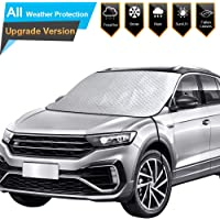 $29 » BruRkim Car Windshield Snow Ice Cover for Winter, Thicker Snow Protection Cover with 4 Layers…