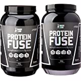 Kit 2x Whey Protein Fuse 900g Dark Lab (Baunilha/Chocolate)
