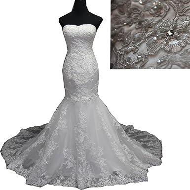 Molixin Sweetheart Mermaid Luxury Wedding Gowns Bridal Gowns