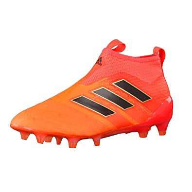 reputable site 24583 1eea1 adidas Ace 17+ Purecontrol FG J, Chaussures de Sport Mixte Enfant - Orange -