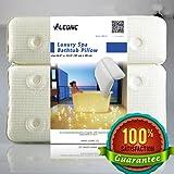 LEONC Upgrade-Verizon PVC Super Strong Saugnäpfe Anti-Rutsch-Badewanne Luxus-Spa-Kissen für Badewannen Badewannenkissen, Whirlpool Spa & Jacuzzi