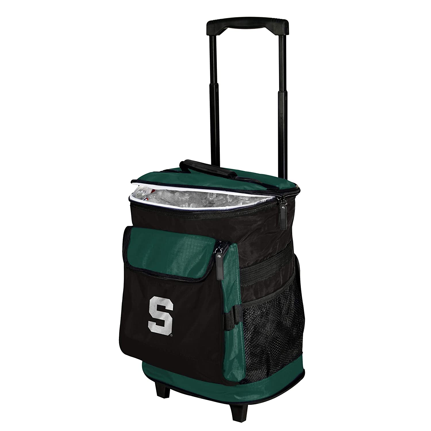 Collegiate 48 Can Rolling Cooler with Backpack Straps