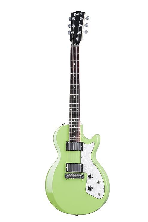 Gibson USA 2017 Les Paul Custom Special - Guitarra eléctrica, Light Green (Amazon Exclusivo