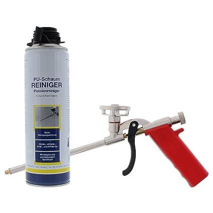 ToniTec – Pistola de espuma de poliuretano limpiador 500 ml + ® Nuevo Juego megagün Stig