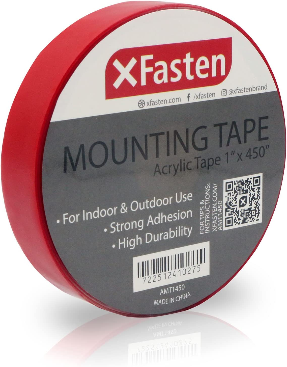 XFasten Double Sided Acrylic Mounting Tape Removable