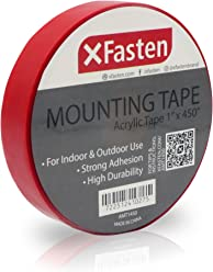 Xfasten Acrylic Mounting Tape Removable 1 Inch X 450 Inch