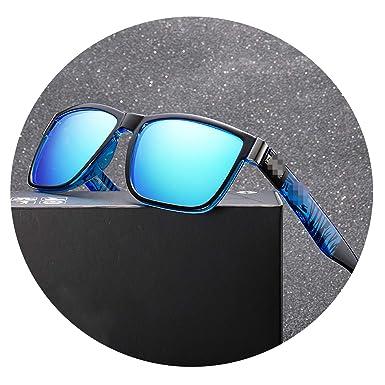 Cyan mango Gafas de sol polarizadas Spuare Mirror Summer ...