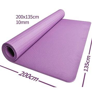 KEYINUO Colchoneta de Yoga Doble 2 m 1 35 m TPE ...