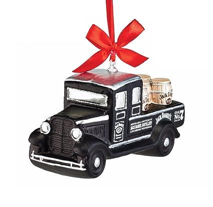 Department 56 Jack Daniel's Delivery Truck Glass Christmas Ornament #4052182 - Amazon.com: Department 56 Jack Daniel's Delivery Truck Glass