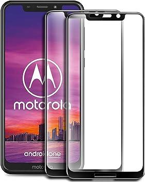 Yocktec Cristal Templado Protector Pantalla para Motorola One Zoom ...
