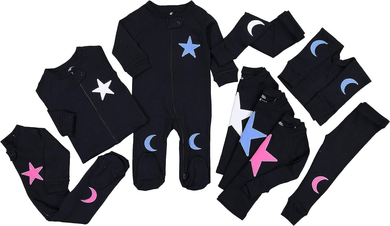 Kids Pjs Pajamas Set Allie /& Oliver 100/% Cotton Snug Fit Unisex Toddler Baby
