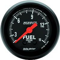 Auto Meter 7510 Phantom II 2-1//16 Universal Stepper Full Sweep Fuel Level Programmable Empty Full Range Gauge