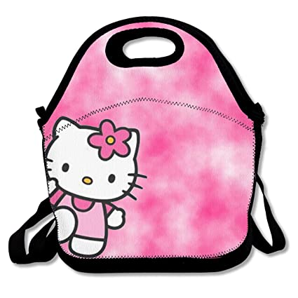Image Unavailable. Image not available for. Color  WSXEDC Lunch Bag Shading Hello  Kitty Printing ... cfcb191bd594f