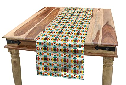 Amazon.com: Ambesonne Ethnic Table Runner, Colorful Pattern ... on wizard of oz house plans, contemporary style house plans, indian style house plans, french style house plans, amish style house plans, oriental style house plans, korean style house plans, international style house plans, turkish style house plans, southwestern style house plans, german style house plans, caribbean style house plans, medieval style house plans, japanese style house plans, art deco style house plans, italian style house plans, english style house plans, 18th century style house plans, mexican style house plans, chinese style house plans,