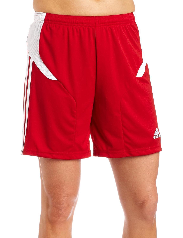 Adidas Women 's Campeon 11 Short B004GUJU1Aレッド/ホワイト(University Red/White) Small