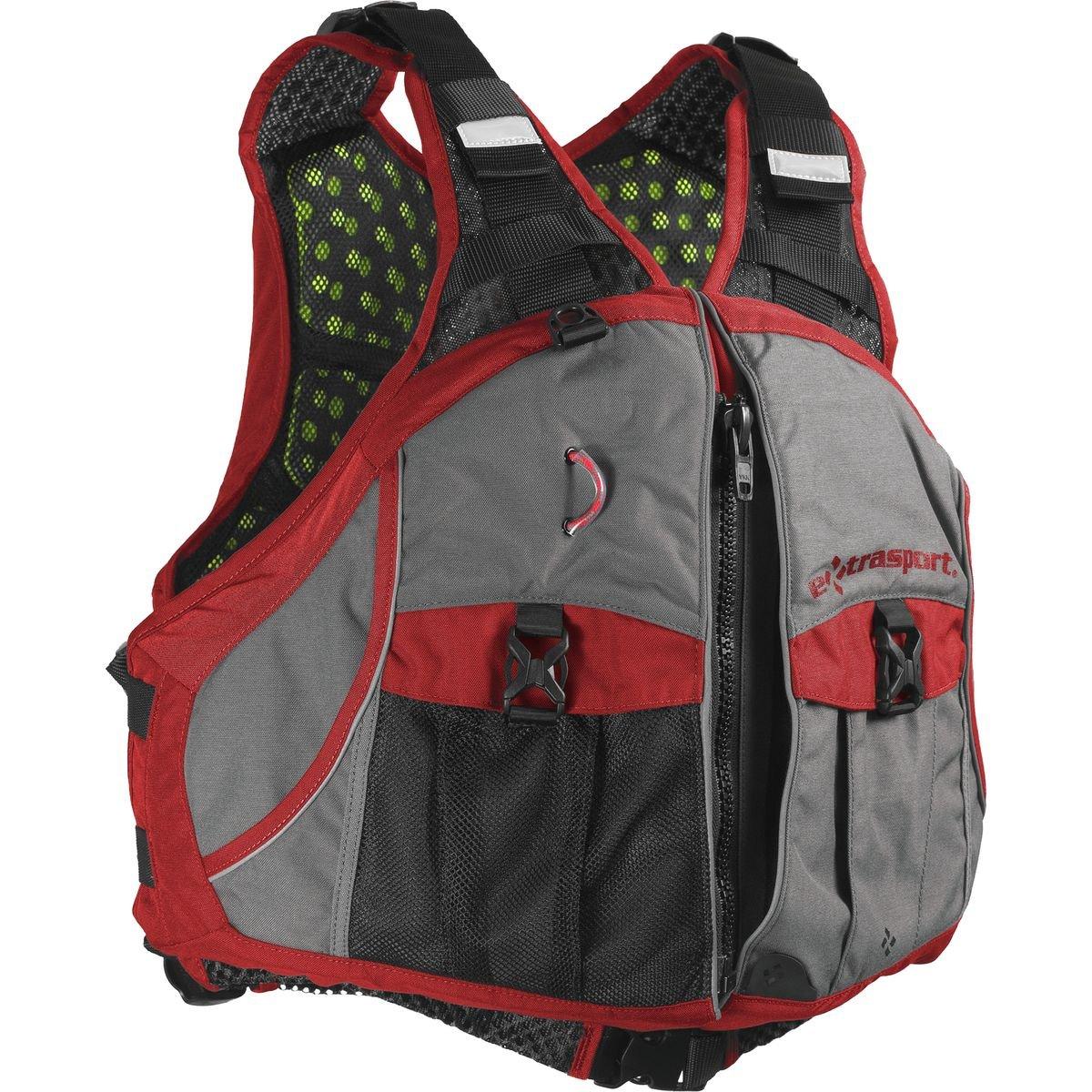 本物の Extrasport Eonライフジャケット – メンズグレー B00XLEO9L8/レッド Extrasport、L/ XL/ B00XLEO9L8, SMOKEY BONES:6cabb979 --- a0267596.xsph.ru